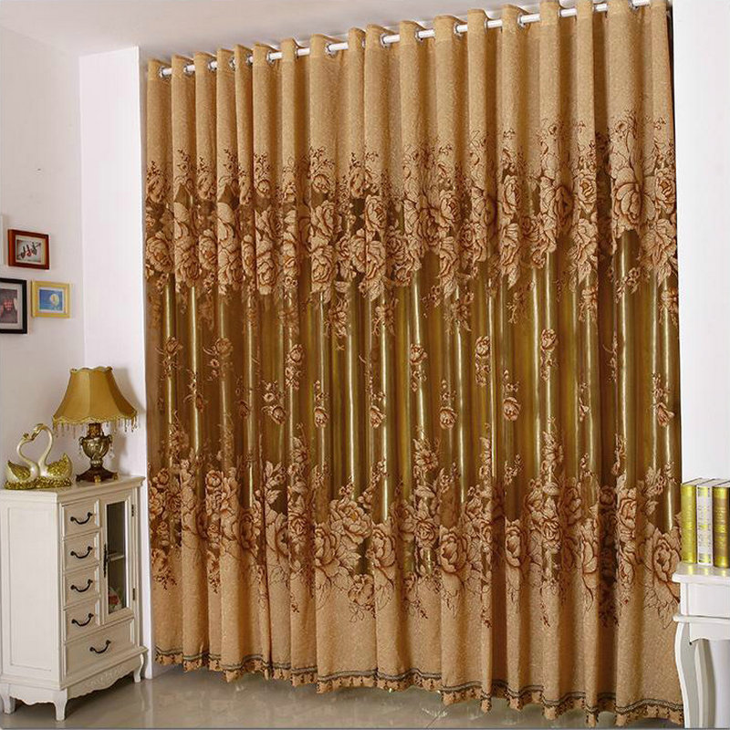 Purple Curtains For Bedroom Living Room Luxury Curtains For Living Room Bedroom Tulle Thick Curtains Purple