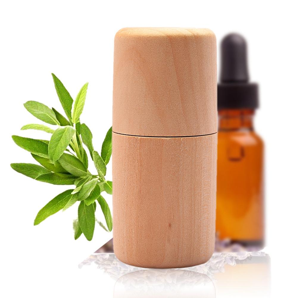 Durable Wooden Portable Essential Oil Storage Box Case Container Aromatherapy Empty Wood Bottle Organizer Holder Home Supplies