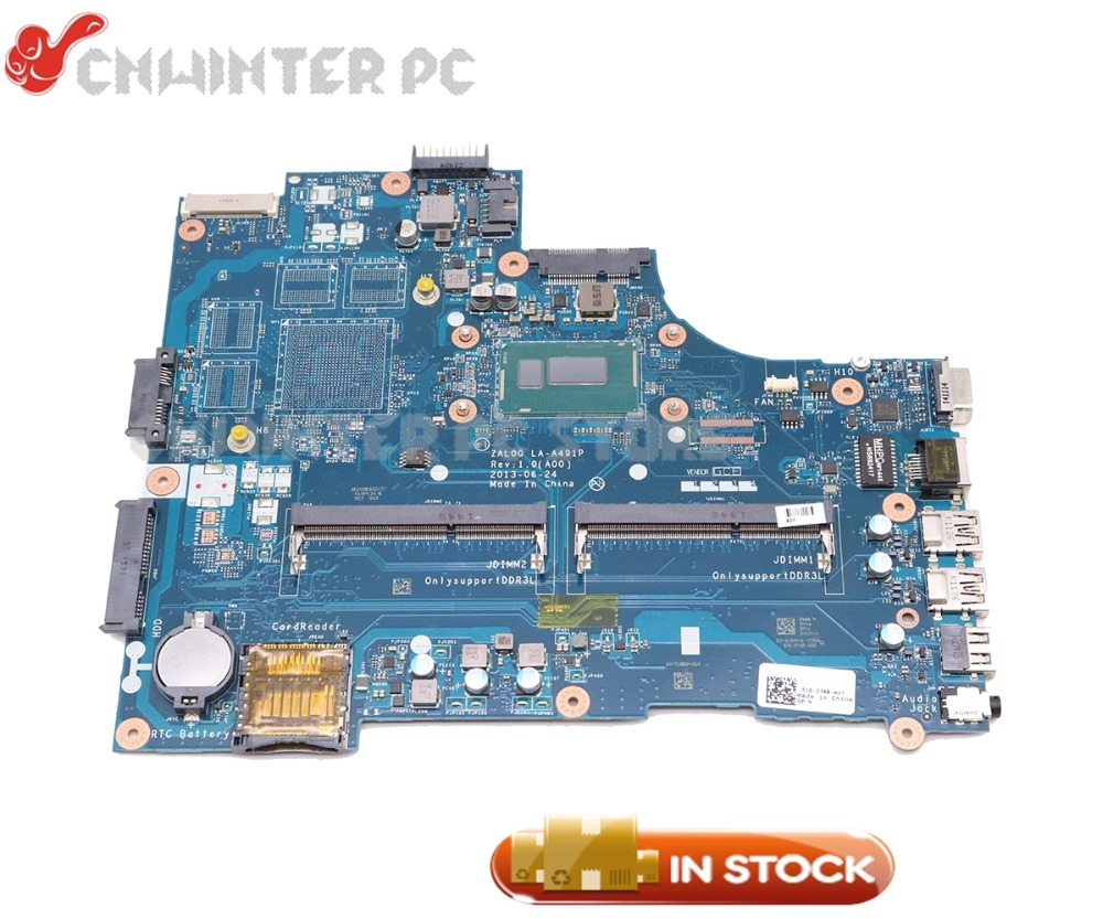 NOKOTION CN-08TTCM 08TTCM 8TTCM ZAL00 LA-A491P For <font><b>Dell</b></font> Latitude <font><b>3540</b></font> Laptop Motherboard SR16Q I3-4010U CPU image