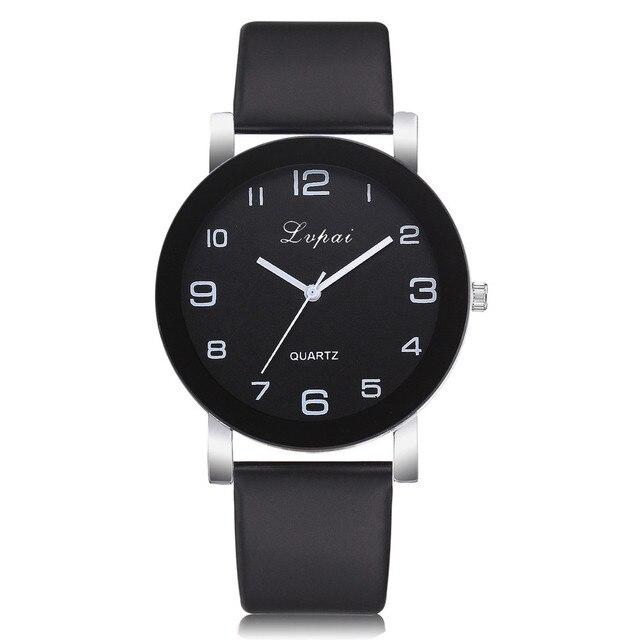 Relogio Feminino Fashion Women's Watches Casual Clocks Women Quartz Leather Band