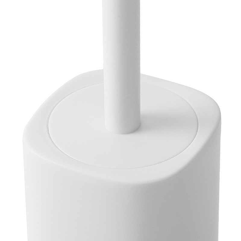 1Set Toilet Brush Set Bathroom Cleaning Brush Long Handle Toilet Brush Plastic Magic WC Toilet Brush Cleaning Tools in Cleaning Brushes from Home Garden