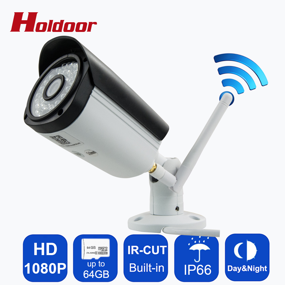 WiFi WebCam 1080P 2.8mm Lens P2P Outdoor video surveillance Camera Motion Detection Alarm Video Record Email Alert Onvif CCTV cctv ip camera wifi 960p hd 3 6mm lens video surveillance email alert onvif p2p waterproof outdoor motion detect alarm ir cut