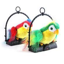 Говорящий попугай игрушка