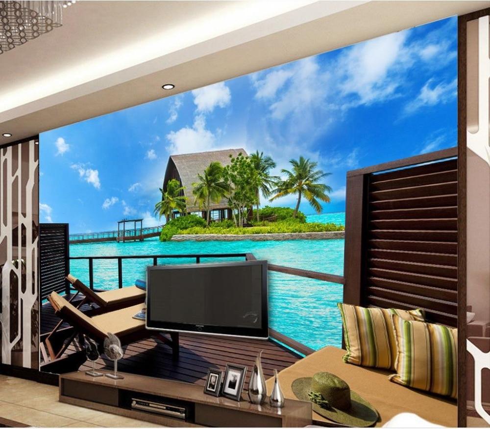 Custom 3d Wallpaper Modern And Simple Observation Deck