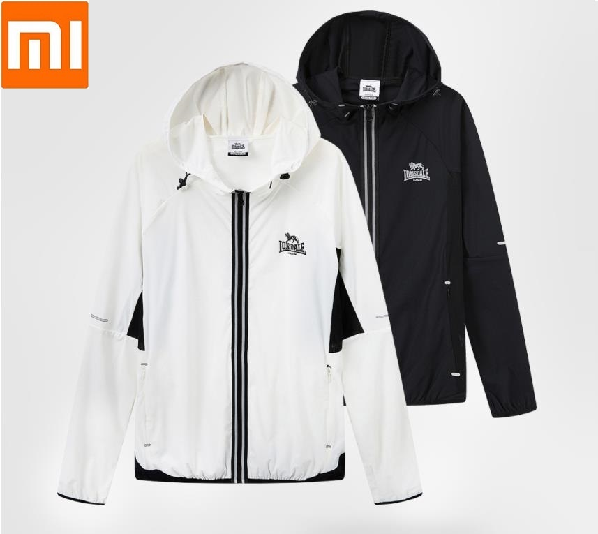 Xiaomi Elastic sports jacket Light and breathable Drainage Comfortable Couple fashion Windbreaker coat for man woman