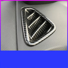 Lsrtw2017 Carbon Fiber Abs Car Dashboard Air Vent Trims for Hyundai Encino Kona 2018  2019 2020