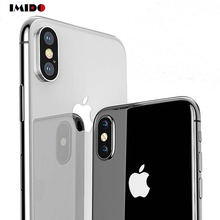 IMIDO Clear Ultra Thin Transparent Phone Case For iPhone 7 Soft TPU Cover X XR XS MAX 8 6 6S Plus 5S SE Coque