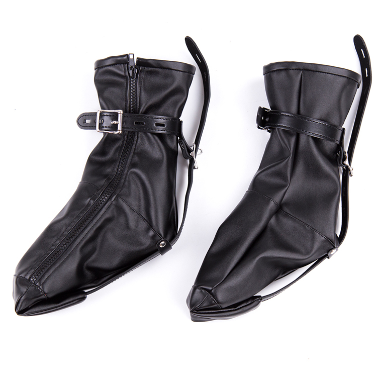 Leather Soft And Flexible Foot Straps Protection Sex Toy -9151