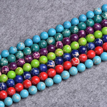 AAA+ 100% Natural Green Imperial Stone Beads Emperor Stone For Jewelry Making DIY Bracelet Necklace 4mm 6mm 8mm 10mm 12mm 15.5