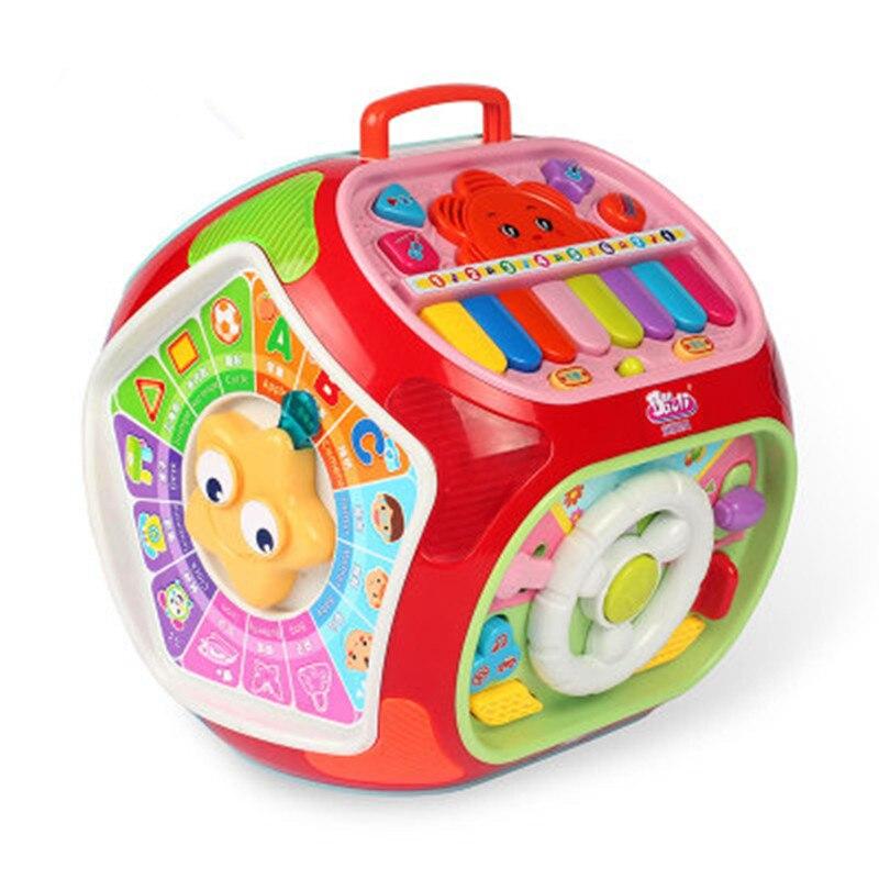 Multi-fonction jeu Table Puzzle bébé éducation précoce sagesse maison 1-3 ans enfants Montessori jouets Juguetes Speelgoed
