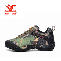 XIANGGUAN   Hiking     Shoes   Trekking Camping Climbing Outdoor   Shoes   Waterproof Man Outdoor Waterproof Canvas climbing boot 81289