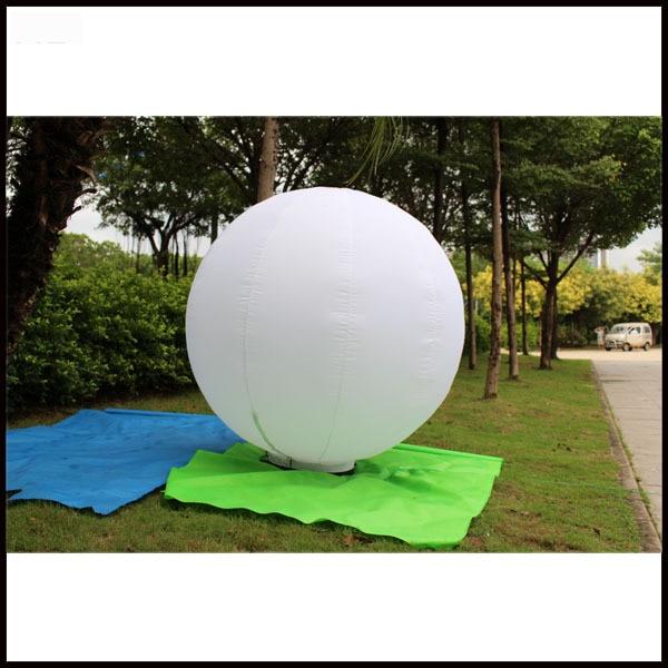 Livraison gratuite dia 1.5 m ballon gonflable au sol pour la décoration de mariage
