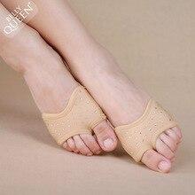 Стиль балет носки для живота Undies танцевальные лапы половина танцевальная обувь Размер XS, S, M, L и XL
