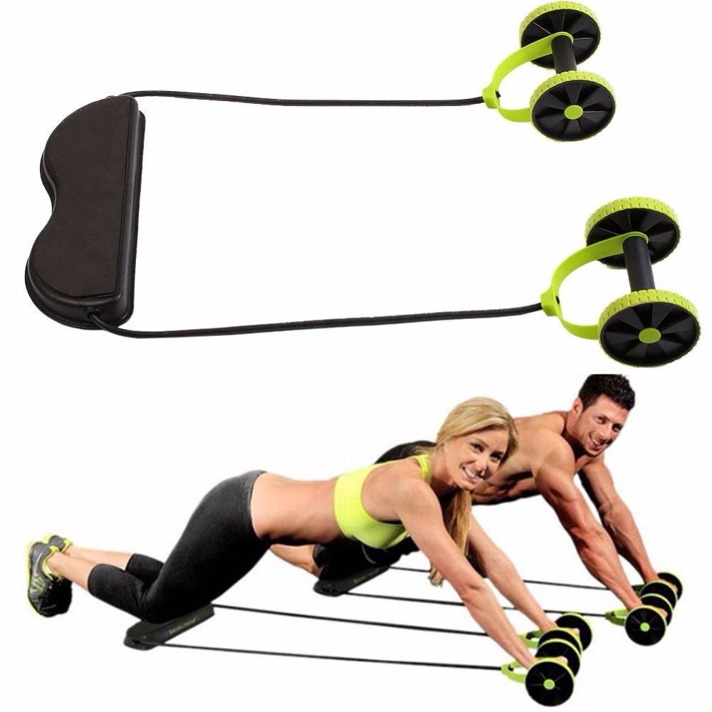 Daudzfunkcionāla vingrinājumu mājas fitnesa aprīkojuma intensitāte Regulējama vēdera riteņu izturība Pavelciet troses muskuļu jaudu