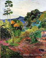 Paul Gauguin paintings of Vegetation Tropicale Martinique modern impressionism art High quality Hand painted
