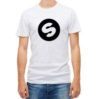 DJ Arno Costo Spinnin Record Music Festival Fascia Alta Qualità a Livello Mondiale Casual Colore Puro T-Shirt Da Uomo Slim T Shirt Partito Top Tee