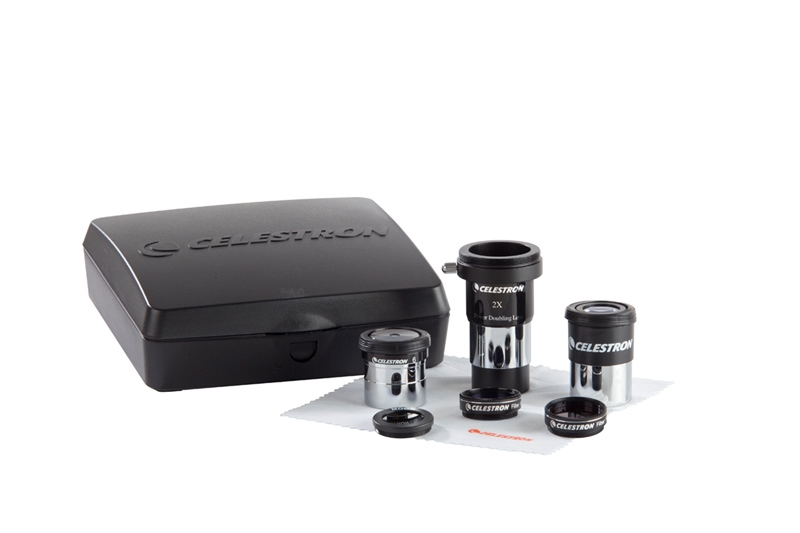 Image 2 - celestron  ASTROMASTER ACCESSORY KIT include 2X barlow lens 6 mm 