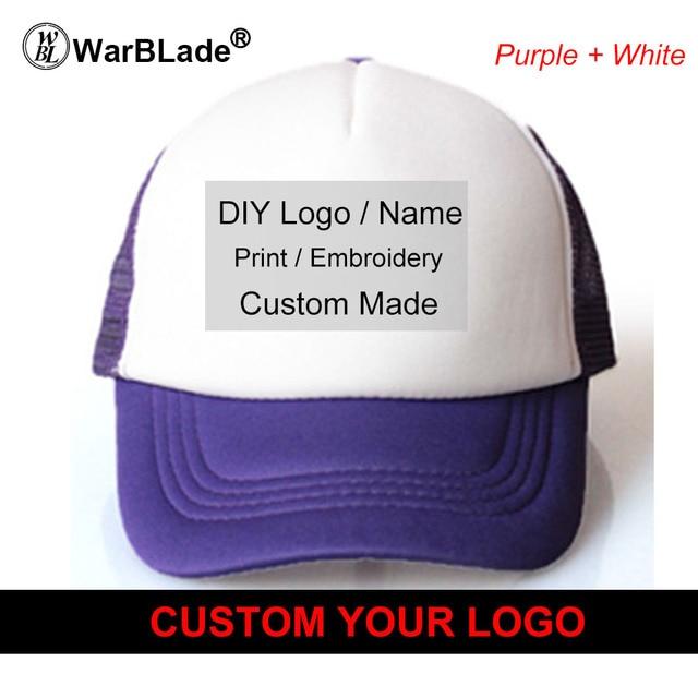 Warblade Custom Trucker Hat Flat Bill