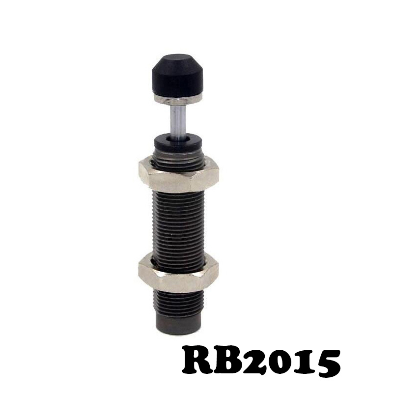 RB2015 Pneumatic Air Cylinder Shock Absorber RB 2015 O.D. thread size 20mm Stroke 15mm SMC type RB series Buffers high quality double acting pneumatic gripper mhy2 25d smc type 180 degree angular style air cylinder aluminium clamps