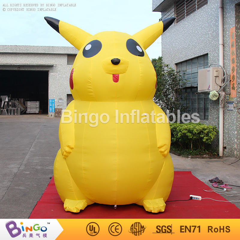 cheap giant inflatable pikachu inflatable pokemon for advertising for party decoration toy