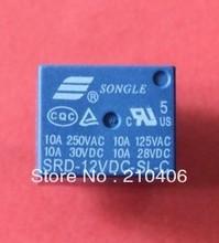 free shipping SRD-12VDC-SL-C 12V relays