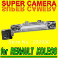 For RENAULT KOLEOS Car Back Up Security Reverse CAM Rear View Parking Sensor Camera HD waterproof for GPS Navigation