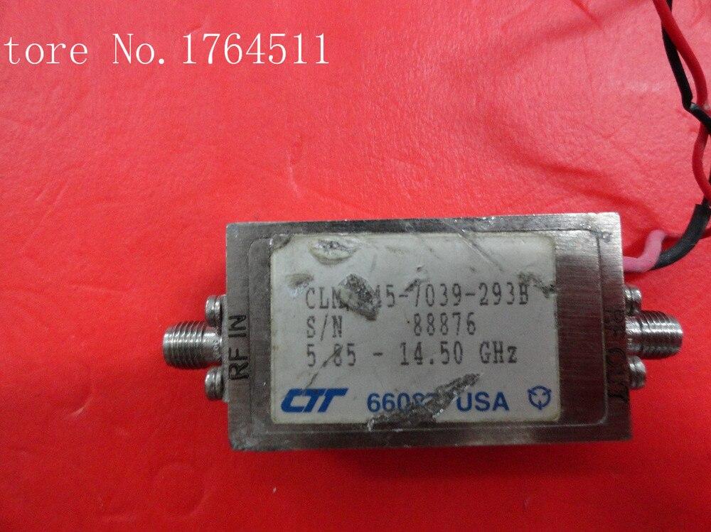 [BELLA] CTT CLM/145-7035-293B 5.85-14.50GHZ 15V SMA Supply Amplifier