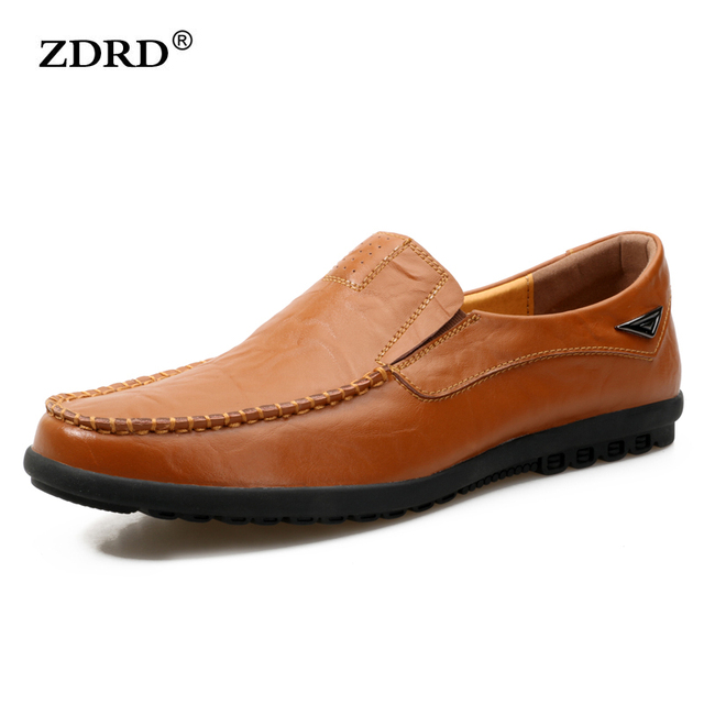 2017 New Arrival Handmade Mens Loafers Shoes High Quality Genuine Leather Men Driving Shoes Breathable Mens Moccasins Shoes