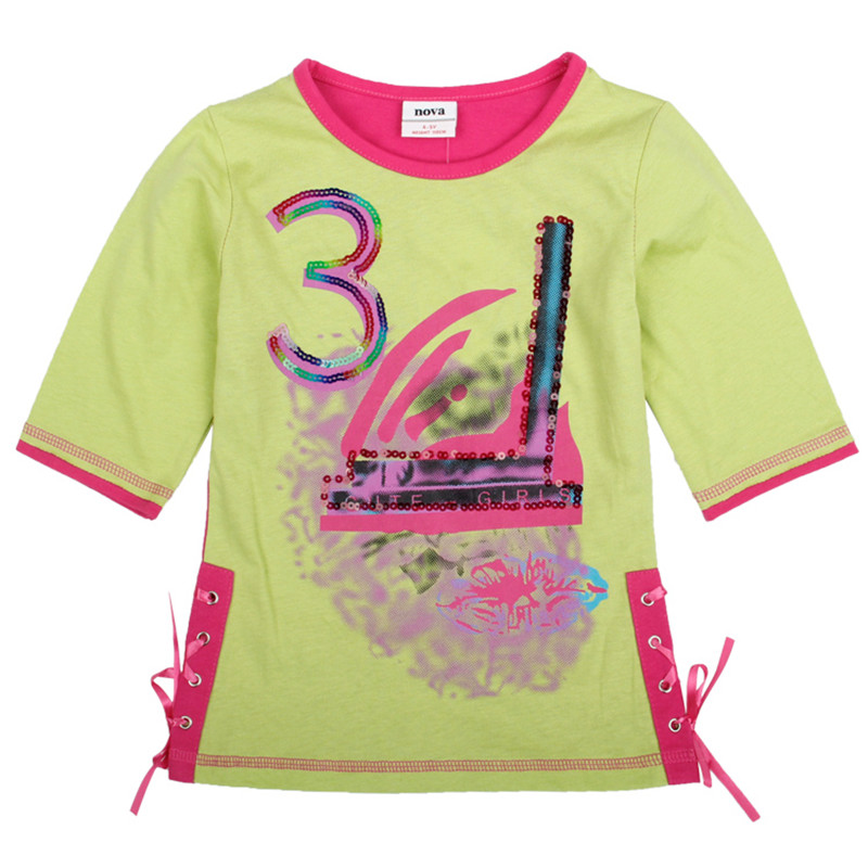 novatx New Girls T shirts summer clothes kids wear baby girl t-shirts children's clothes tops baby girls t shirts clothes girls платье для девочек baby girl clothes 2015 baby baby girls clothes