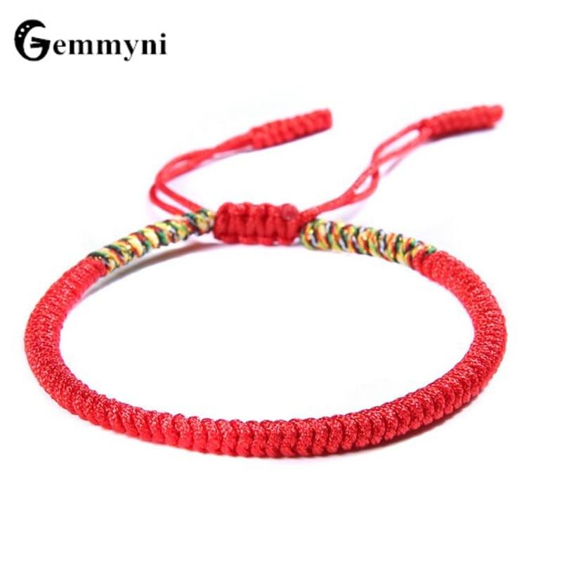 צמיד אדום צמיד מחרוזת מכתב קריסטל א ב - תכשיטי אופנה