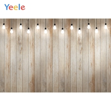 Yeele Pine Wood Texture Photocall Lights Vintage Photography Backdrops Personalized Photographic Backgrounds For Photo Studio