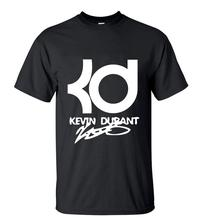 New Arrival Mens Streetwear KD Printed T-Shirt 2016 Summer Fashion Short Sleeve O-Neck T-shirts High Quality Casual Tops Tee