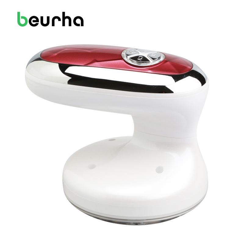 Beurha Munti-function Body Massager Electric Slimming Massage Vibration Slimming Machine Fat Burner Galvanic Infrared Ultrasonic rocago mm 310 infrared slimming massager fat burn machine