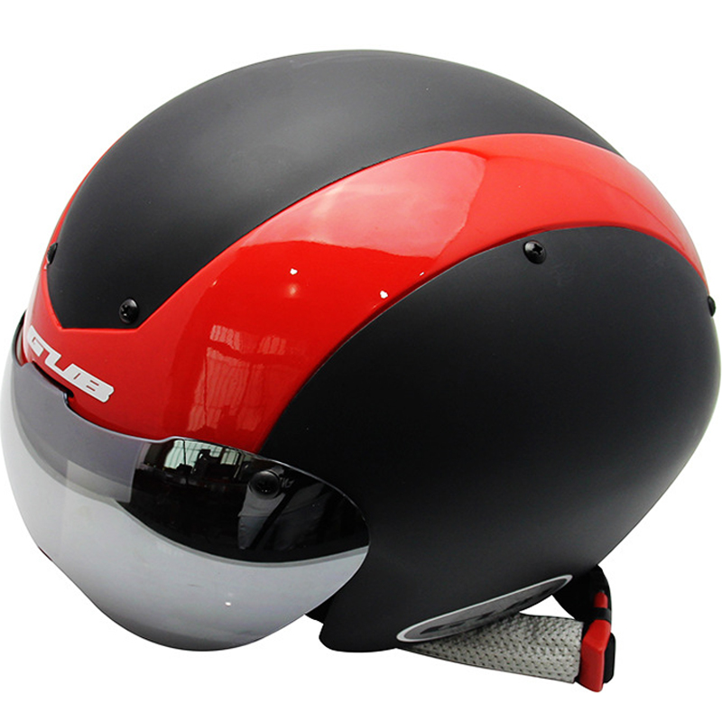 Men Bicycle Helmet Winter Summer Cycling Helmet Detachable Goggles Visor Shell TT Road Mountain Triathlon XC