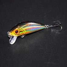 Sell Well Mini Japan 5cm 3.5g Multi Swim Fishing Lures Artificial Hard Crank Bait topwater Wobbler Fishing Crankbait lure ZB204
