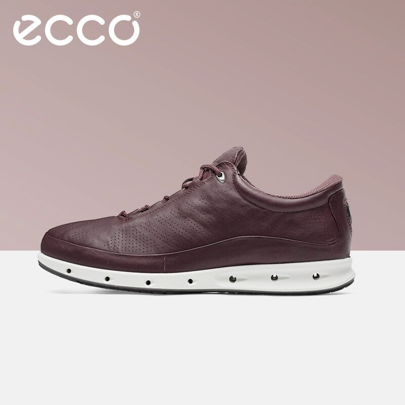 Ecco New Fashion Youth Casual Shoes Breathable Comfortable Outdoor Men's Casual Shoes Low To Help Black Wild Men's Shoes