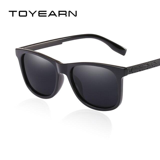Gafas de Sol Polarizadas de Espejo Retro Clásico Cuadrado Conducir Anteojos Hombre Mujer 6AuptCIod
