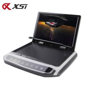 Image 2 - Xst 17.3 インチ車のルーフマウントモニターtft液晶プレーヤーhd 1080pビデオusb fm hdmi sdタッチボタン天井MP5 プレーヤー