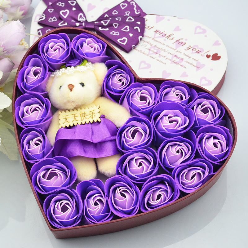 Rose Flower Soap Flower Gift Birthday Gift Ideas Girls