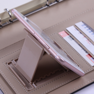 Image 3 - A5 B5 business handmade PU leather notebook lined spiral paper hardcover diary journal  week planner agenda organizer binder