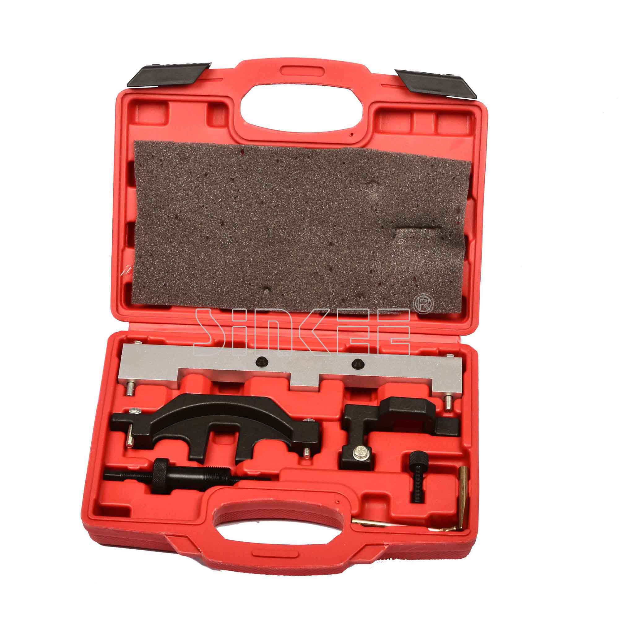 Engine Timing Locking Tool Kit For Bmw Petrol Chain Drive N40 / N45 / N45T - VANOS jiangdong engine parts for tractor the set of fuel pump repair kit for engine jd495