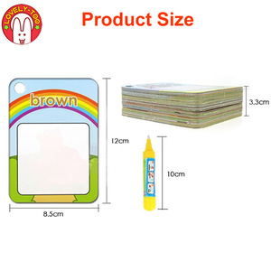 Image 5 - Magic Drawing Book Water Coloring Toys Clipboard Painting Doodle Creation Board With Pens Kids Craft  Educational Child Game