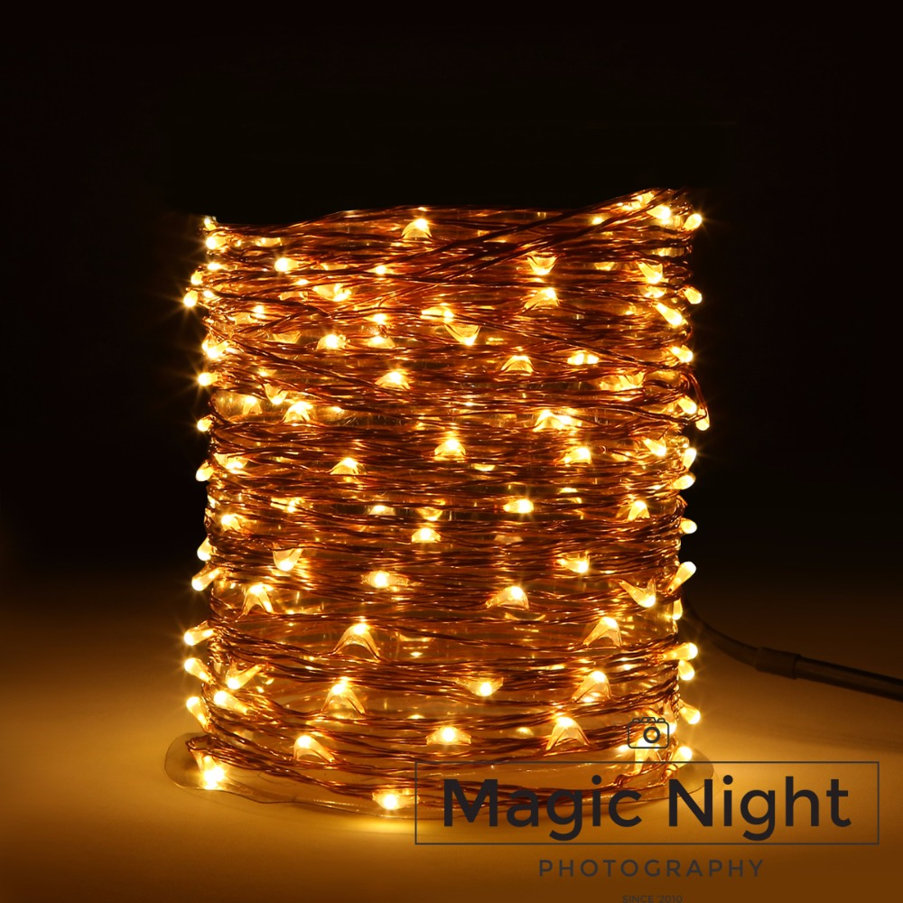 Magicnight 150 leds 50ft led plug in string starry light outdoor decorative fairy lights for - Led decorative string lights ...