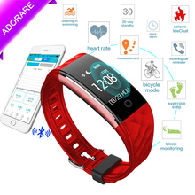 ADORARE S2 Men Women Smart Watch Heart Rate Monitor Waterproof Smartwatch GPS Tracker Sports Digital Watches for IOS Android