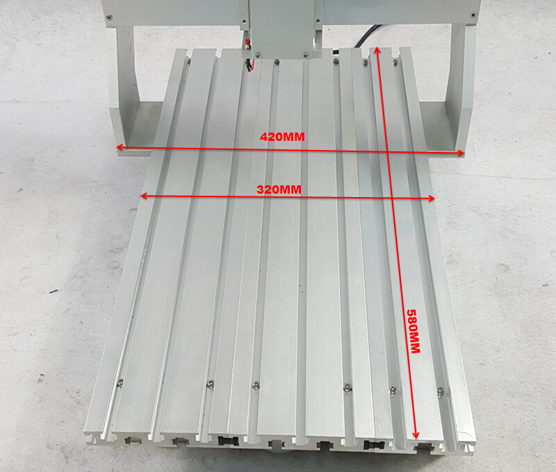 Hot sale 3040 CNC frame simple Without stepper motor,good Stability hot sale cayler