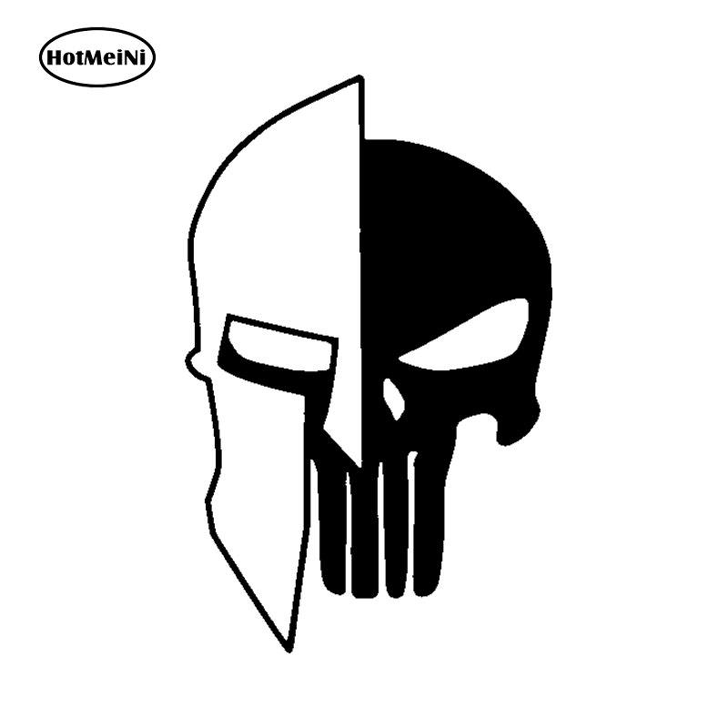HotMeiNi Car Sticker Labe,spartan,punisher,come And Take It,#2a,guns,vinyl Decal For Car Window Black/Sliver 15*10cm