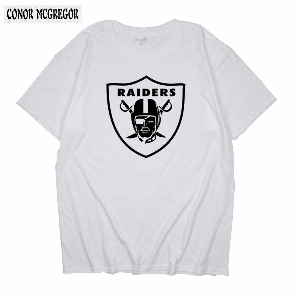 CONOR MCGREGOR 2018 Hot Sale Men Women Short Sleeve T Shirts Raiders Classic Tshirts Casual Custom Unique Design T-shirts