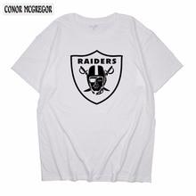 cb3c722e390 CONOR MCGREGOR 2018 Hot Sale Men Women Short Sleeve T Shirts Raiders  Classic Tshirts Casual Custom