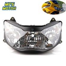 Headlight For 00-01 Honda CBR 900 929 RR CBR900RR CBR929RR Motorcycle Front Lamp Assembly Upper Head Light Housing 2000 2001 цена в Москве и Питере