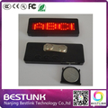 B721 high quality led name card tag programmabe led moving messages business card, new year gifts led name badge